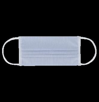 Двуслойна маска за дихателна защита за многократна употреба.
